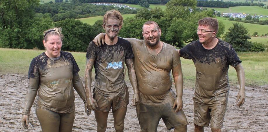 TW Team at Tough Mudder