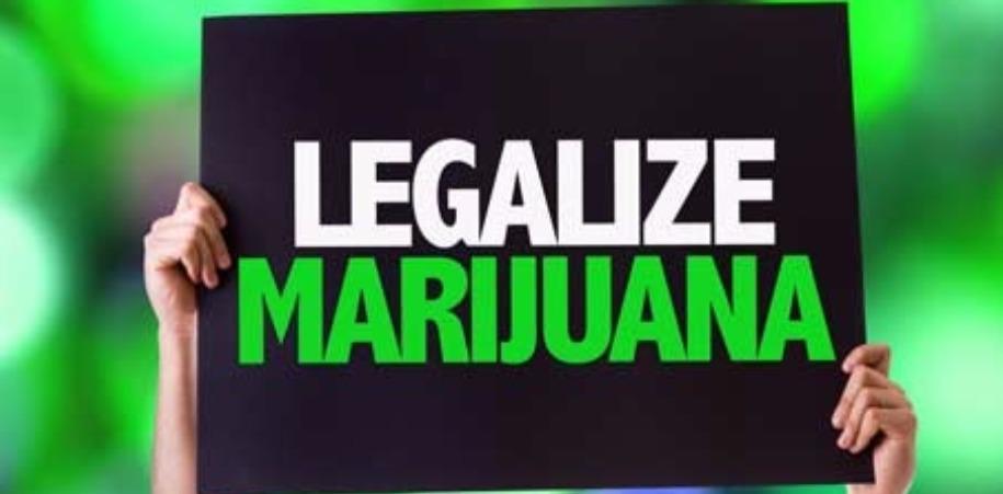 'Legalize Marijuana' Sign
