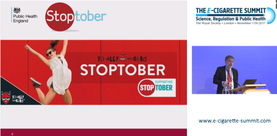 Martin Dockrell discusses TW Stoptober Campaign at E-cig Summit 17
