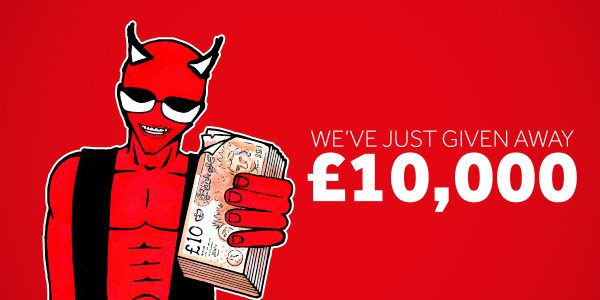Totally Wicked give away £10,000