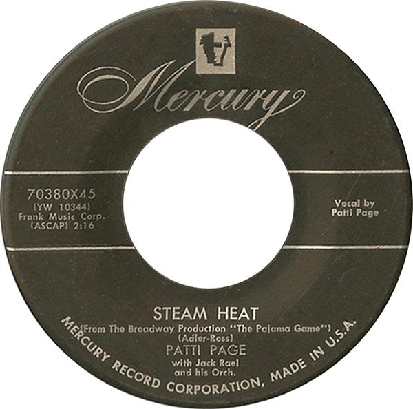Patti Page steam heat