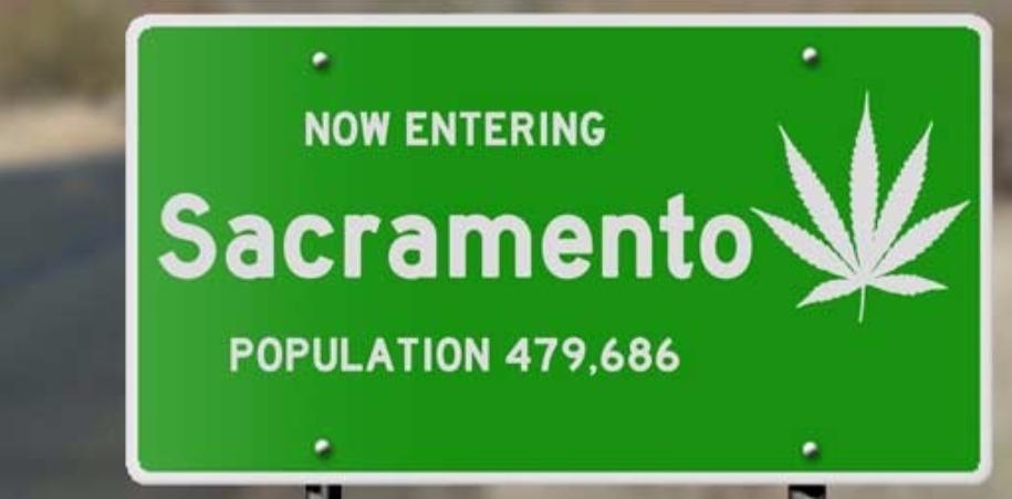 Sacramento Cannabis Sign