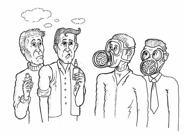 smoking-gasmasks