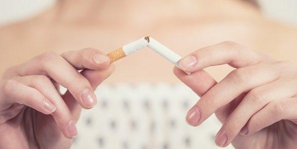 snapping a cigarette - Tobacco Control