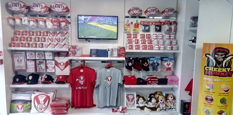St. Helens Merch in Totally Wicked Store