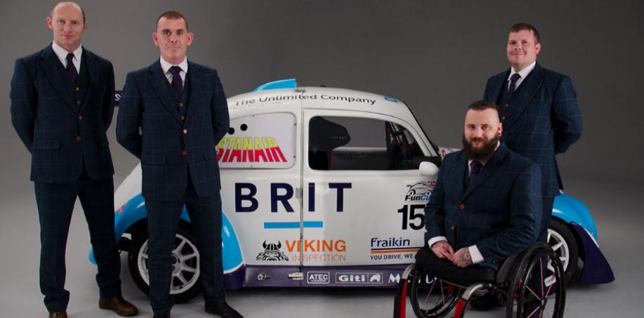 Militants with Team Brit Car