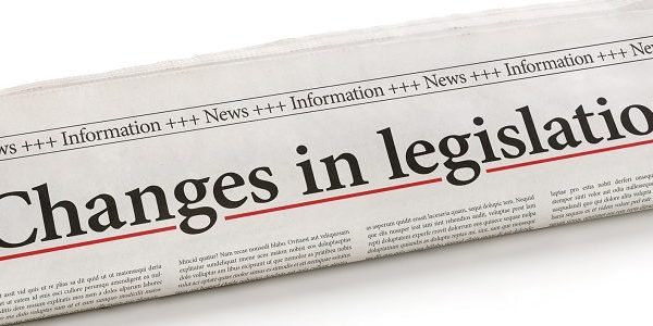 changes in legislation newspaper