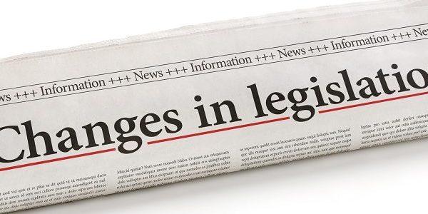 changes in legislation newspaper