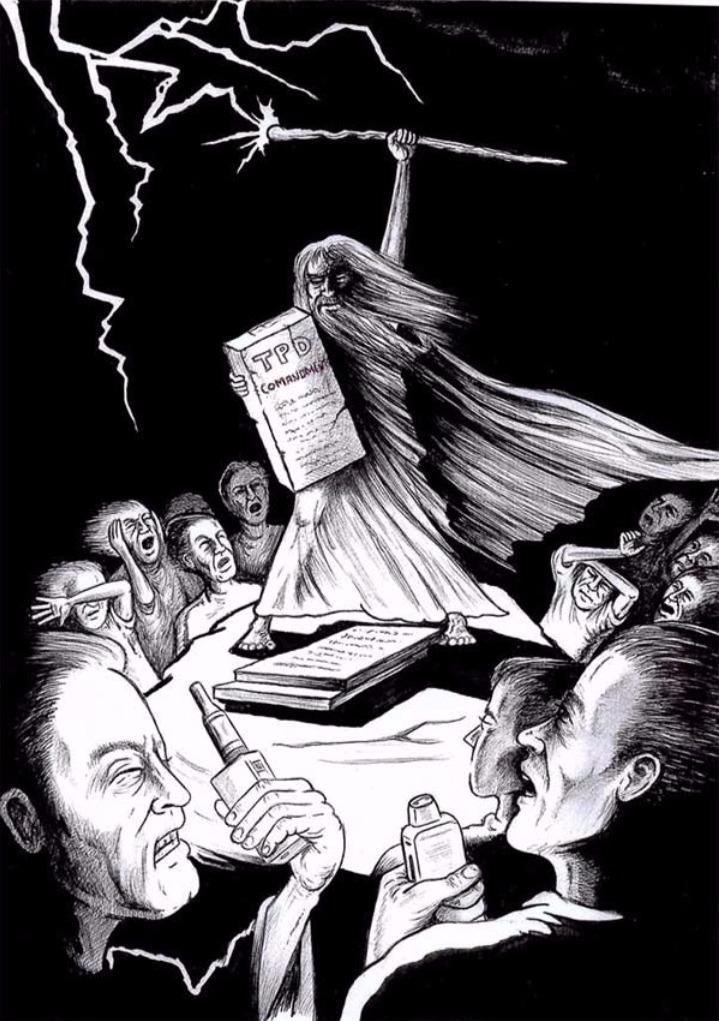 TPD cartoon