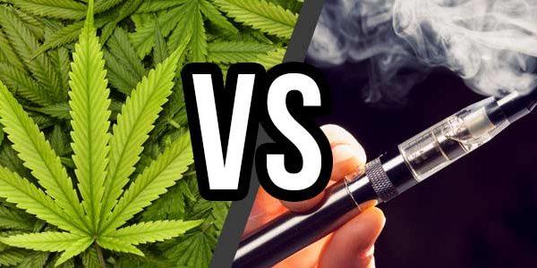 weed vs vaping