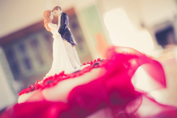 An image of a wedding cake topper