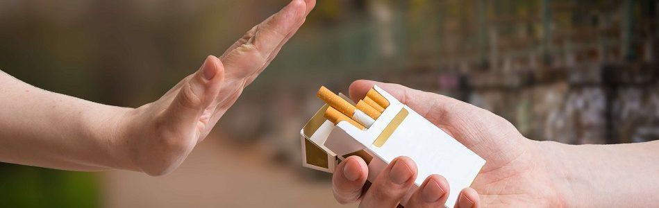 no to cigarettes