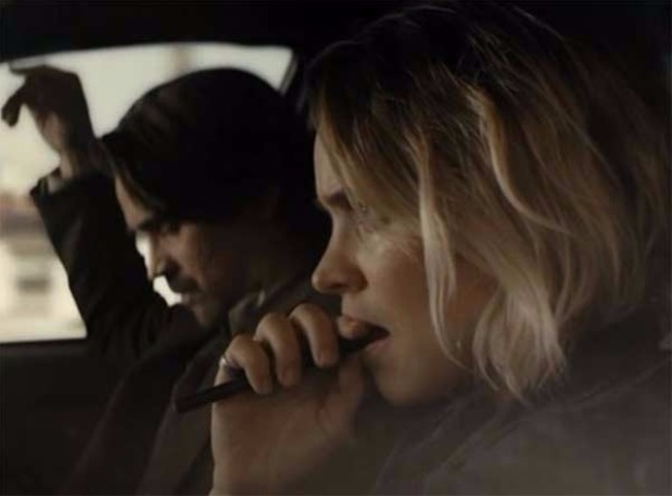 Image of Rachel McAdams vaping on screen